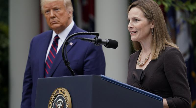 Donald Trump nominates Amy Coney Barrett to Supreme Court
