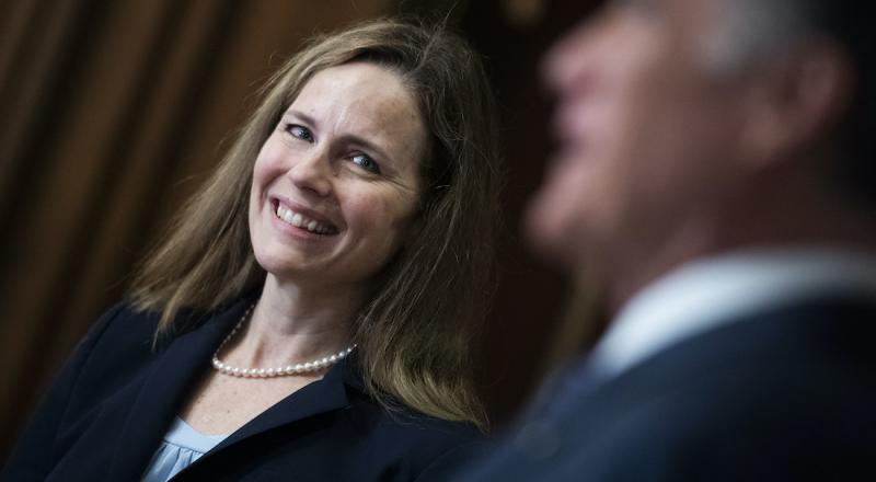 Amy Coney Barrett: handmaid of the Lord, not the state