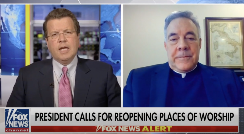Rev. Robert Sirico: Churches are 'the first of the first responders'