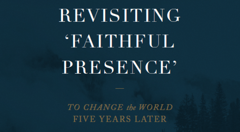 Revisiting the Tensions of 'Faithful Presence'