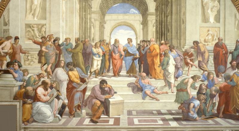 Raphael (1511). The School of Athens.