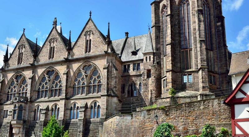 The University of Marburg, where Röpke earned his degree in economics, and later taught.
