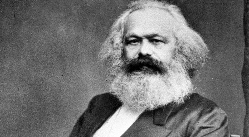 Karl Marx, the father of Communism.